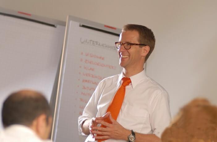 Meinolph Engels im Vortrag